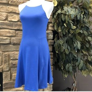ASOS Blue Athletic Dress High Neck Sleeveless 6